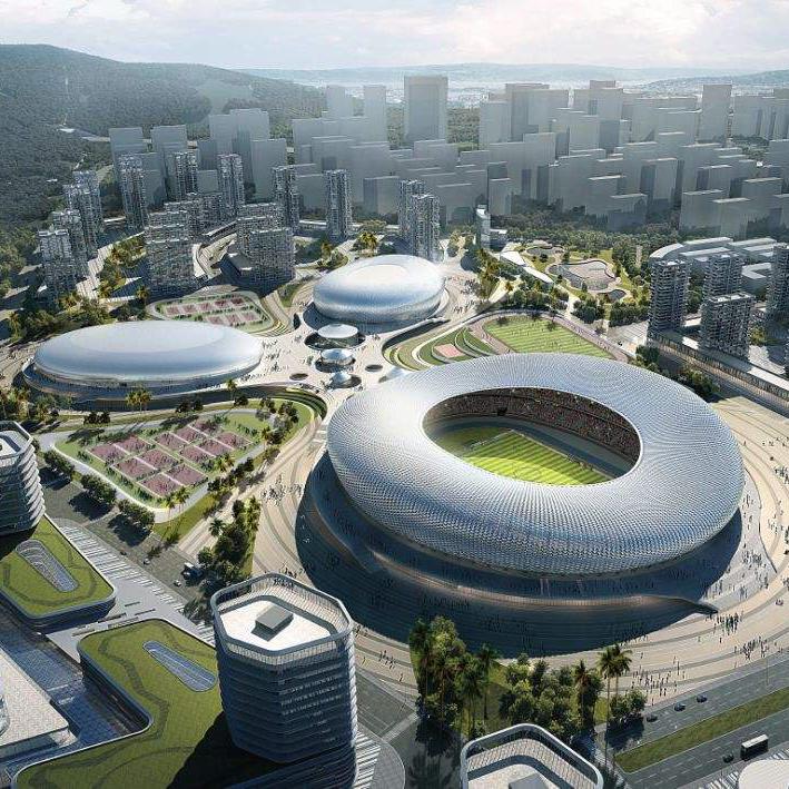 三亚市体育中心(建设中)
